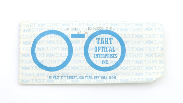 TART OPTICAL タートオプティカル ヴィンテージ メガネ ARNEL アーネル REDWOOD-CLEAR 46-24 15