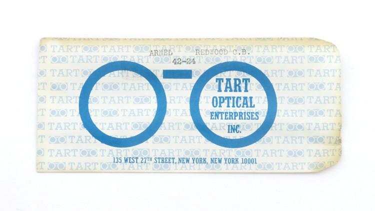 TART OPTICAL タートオプティカル ヴィンテージ メガネ ARNEL アーネル REDWOOD-CLEAR 42-24 15