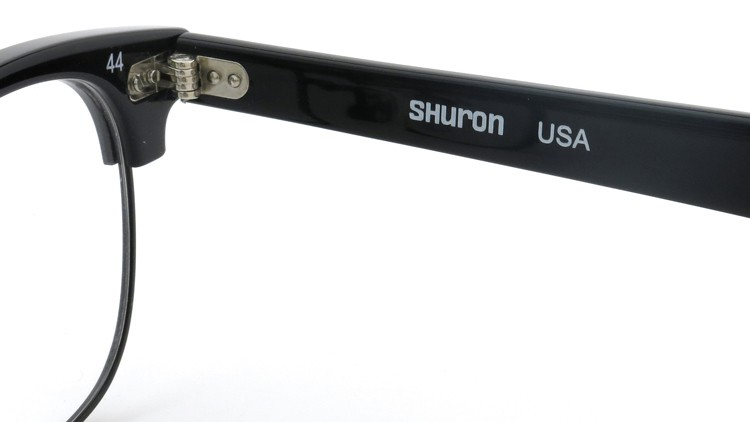 SHURON (シュロン) メガネ RONSIR ロンサー ZYL Black/Black 44-22 10