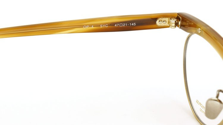 OLIVER PEOPLES (オリバーピープルズ) メガネフレーム OP-4 SYC 9