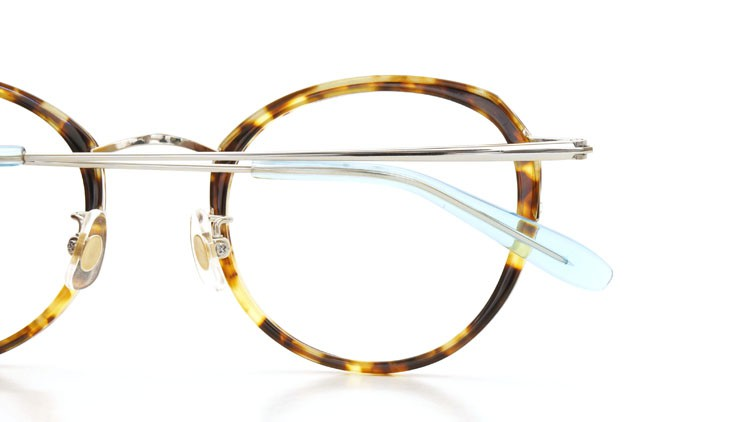 megane and me (メガネアンドミー) メガネ ME006 FELIX TT2 tortoise/silver/light-blue 14