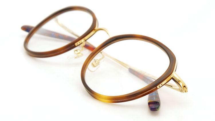 megane and me (メガネアンドミー) メガネ ME006 FELIX DB1 demi/gold/vintage-violet-marble 12