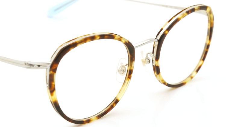 megane and me (メガネアンドミー) メガネ ME006 FELIX TT2 tortoise/silver/light-blue 6