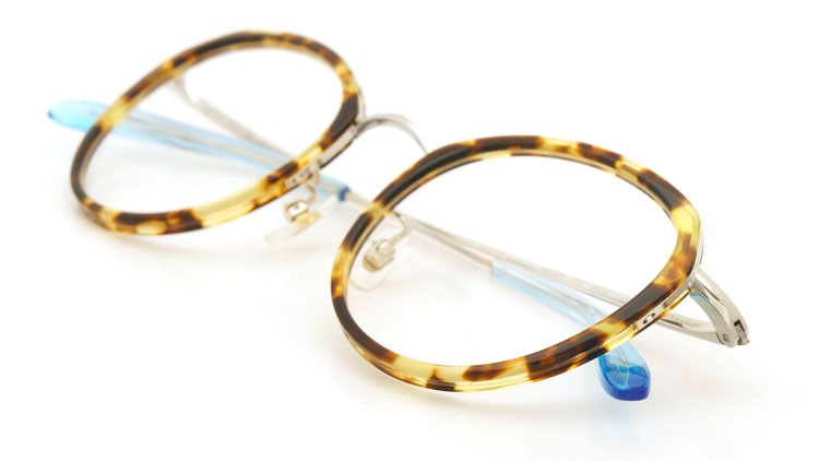 megane and me (メガネアンドミー) メガネ ME006 FELIX TT2 tortoise/silver/light-blue 11