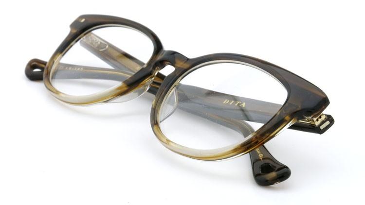DITA  (ディータ) メガネ AMORA アモラ DRX-3028-B-BRN 50size 12