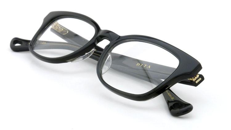 DITA  (ディータ) メガネ SINTRA シントラ DRX-3029-A-BLK 49size 12