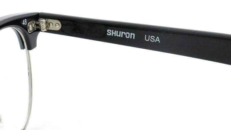 SHURON (シュロン) メガネ RONSIR ロンサー ZYL Black/Silver 48-22 10