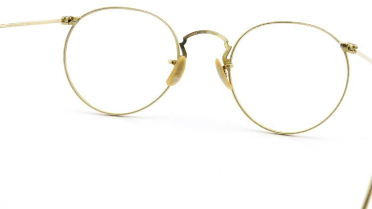 Bausch&Lomb B&L ボシュロム antique アンティーク メガネ 1930's HIBO 1/10 12kGF Gold 6