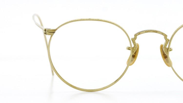 Bausch&Lomb B&L ボシュロム antique アンティーク メガネ 1930's HIBO 1/10 12kGF Gold 15