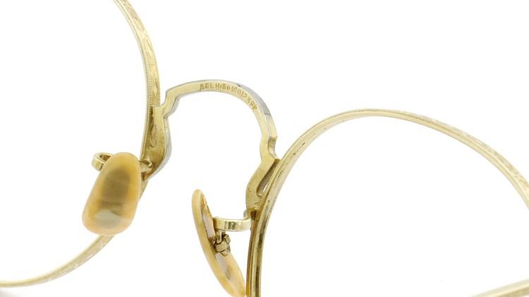 Bausch&Lomb B&L ボシュロム antique アンティーク メガネ 1930's HIBO 1/10 12kGF Gold 7