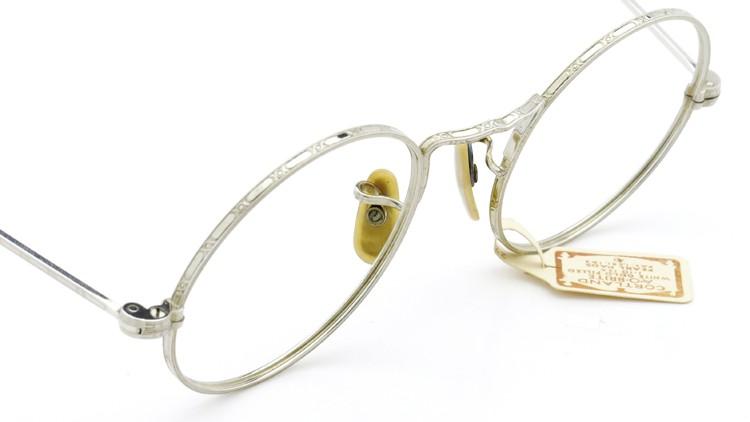 American Optical アメリカン オプティカル  antique アンティーク メガネ 1930s MARSHWOOD 1/10 12kGF 40□20 WHITE-GOLD 5