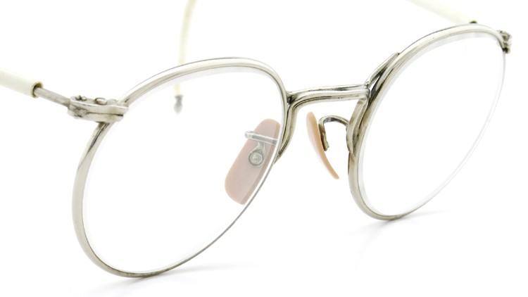 American Optical アメリカン オプティカル vintage ヴィンテージ メガネ Ful-Vue SAFETY-SPECTACLE NoF3147 47-23 シルバー 6