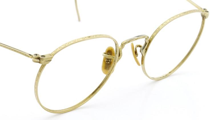 Bausch&Lomb B&L ボシュロム antique アンティーク メガネ 1930's HIBO 1/10 12kGF Gold 5