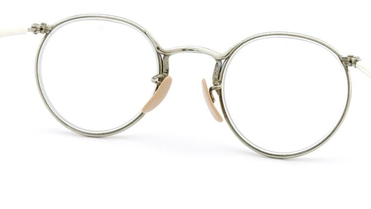 American Optical アメリカン オプティカル vintage ヴィンテージ メガネ Ful-Vue SAFETY-SPECTACLE NoF3147 47-23 シルバー 7