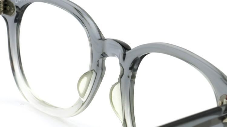 American Optical アメリカンオプチカル (AO)Vintage ヴィンテージ タ?イヤ鋲 ボストン Grey-Fade / Grey 46-20 8