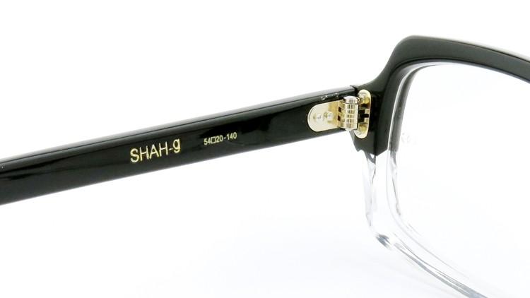 Oliver Goldsmith (オリバーゴールドスミス)  メガネ SHAH-g  シャージー Black-Float  8