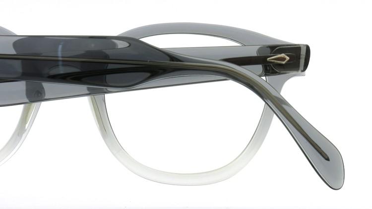 American Optical アメリカンオプチカル (AO)Vintage ヴィンテージ タ?イヤ鋲 ボストン Grey-Fade / Grey 46-20 14