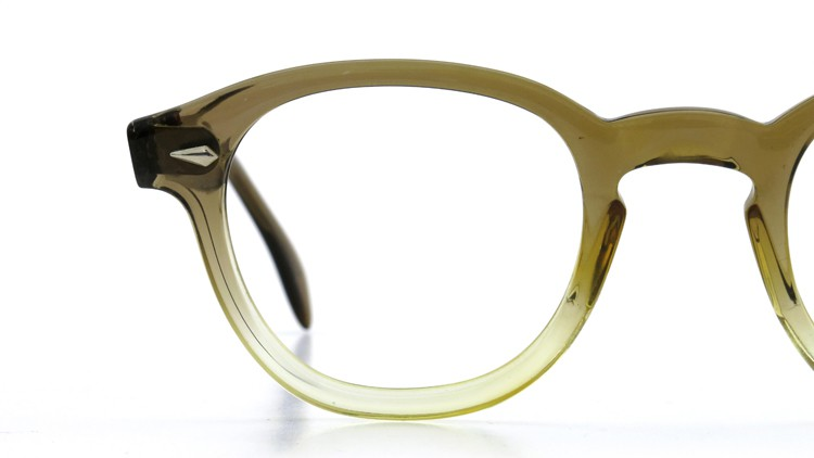 American Optical アメリカンオプティカル (AO)Vintage ヴィンテージ タ?イヤ鋲 ボストン Grey-Fade / Grey 46-20 15