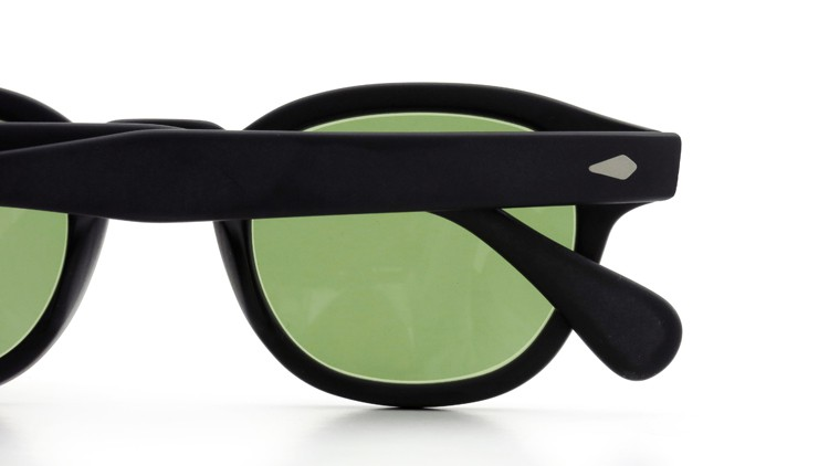 MOSCOT ORIGINALS (モスコット) サングラスカスタム LEMTOSH レムトッシュ Col.MATTE BLACK 44size Green-Lense { Sunglass by ponmegane } 13