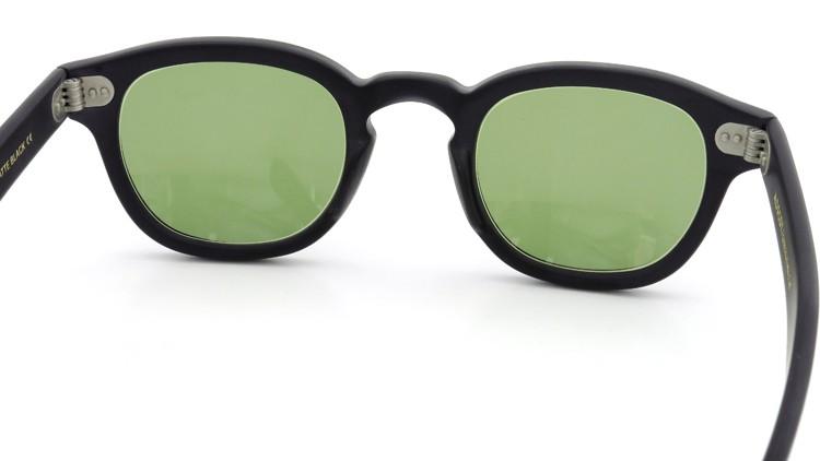 MOSCOT ORIGINALS (モスコット) サングラスカスタム LEMTOSH レムトッシュ Col.MATTE BLACK 44size Green-Lense { Sunglass by ponmegane } 7