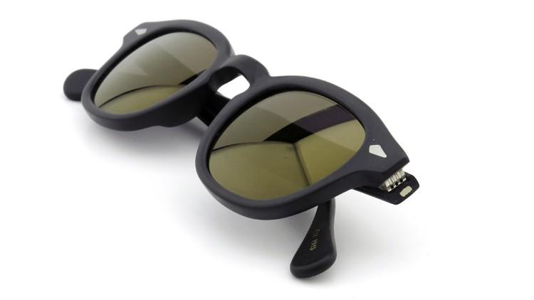 MOSCOT ORIGINALS (モスコット) サングラスカスタム LEMTOSH レムトッシュ Col.MATTE BLACK 44size Gold-Mirror {Sunglass by ponmegane} 11