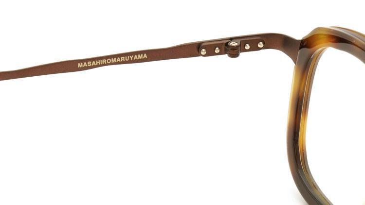 MASAHIROMARUYAMA(マサヒロマルヤマ) メガネ MM-0015 col.02 HAVANA/BROWN 10