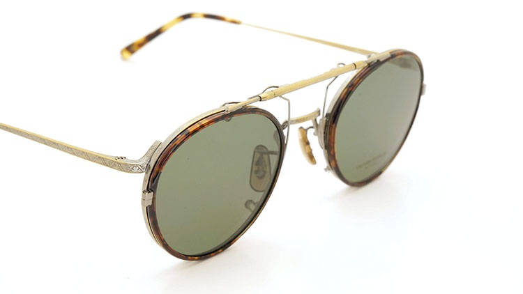 OLIVER PEOPLES(オリバーピープルズ)  2014年秋冬 最新作メガネ+クリップオンセット OP-10T AG 8