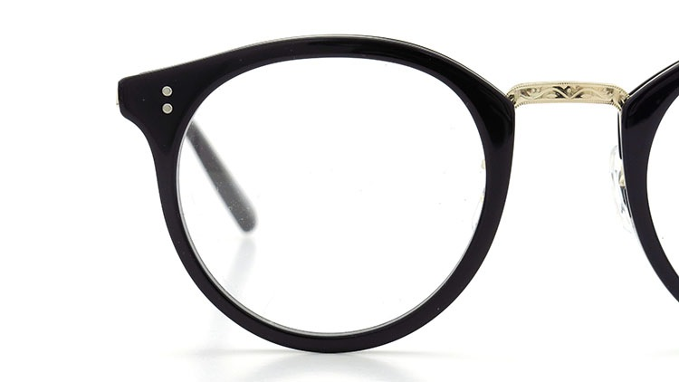 OLIVER PEOPLES(オリバーピープルズ)  メガネ Los Angeles Collection Reeves-P リーヴス BKG 15
