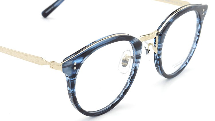 OLIVER PEOPLES(オリバーピープルズ)  メガネ Los Angeles Collection Reeves-P リーヴス DNMG 6