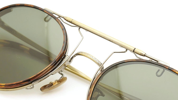 OLIVER PEOPLES(オリバーピープルズ)  2014年秋冬 最新作メガネ+クリップオンセット OP-10T AG 31