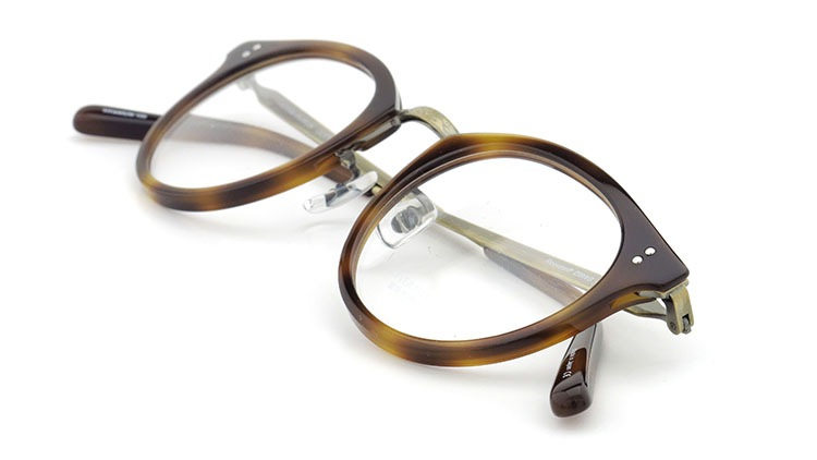 OLIVER PEOPLES(オリバーピープルズ)  メガネ Los Angeles Collection Reeves-P リーヴス DMAG 13