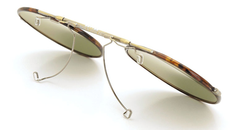 OLIVER PEOPLES(オリバーピープルズ)  2014年秋冬 最新作メガネ+クリップオンセット OP-10T AG 30
