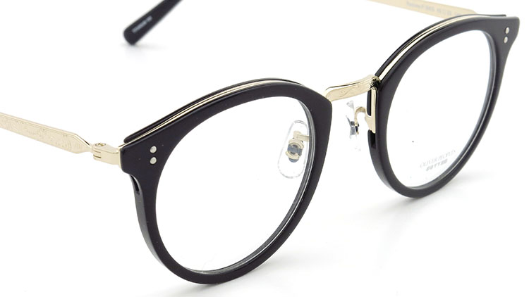 OLIVER PEOPLES(オリバーピープルズ)  メガネ Los Angeles Collection Reeves-P リーヴス BKG 6