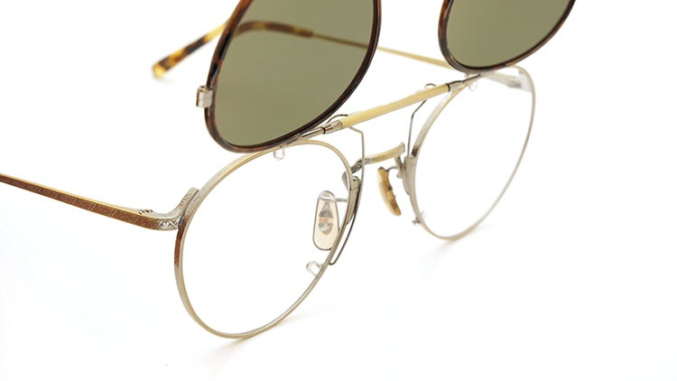 OLIVER PEOPLES(オリバーピープルズ)  2014年秋冬 最新作メガネ+クリップオンセット OP-10T AG 9