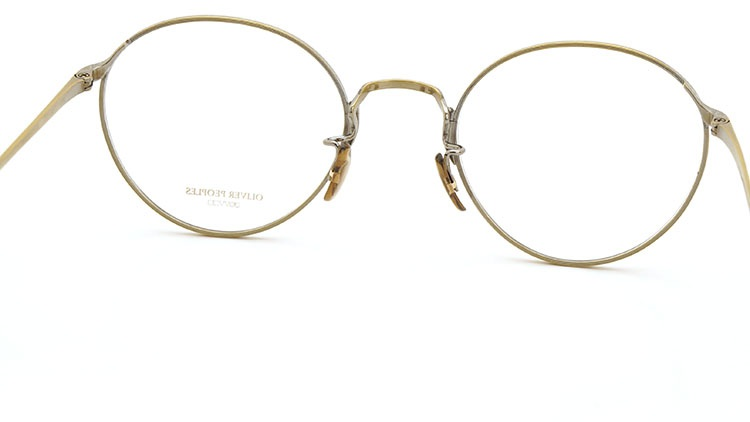 OLIVER PEOPLES(オリバーピープルズ)  2014年秋冬 最新作メガネ+クリップオンセット OP-10T AG 22