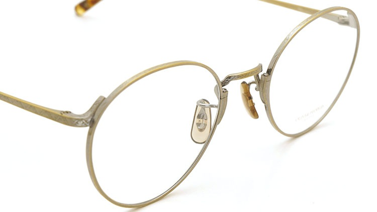 OLIVER PEOPLES(オリバーピープルズ)  2014年秋冬 最新作メガネ+クリップオンセット OP-10T AG 21