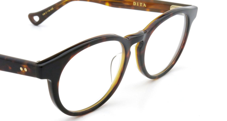 DITA  (ディータ) メガネ ESTORIL エストリル DRX-3027-B-TRT 49size 6