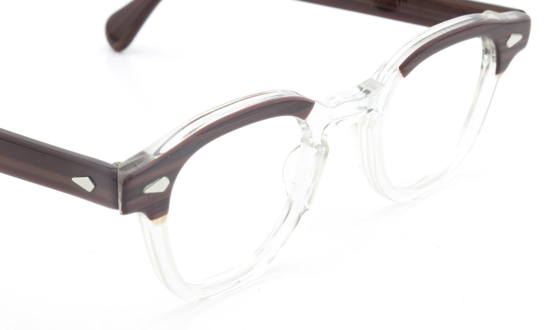 TART Optical タートオプティカル ヴィンテージ メガネ ARNEL アーネル REDWOOD C.B.-CLEAR 44-24 [no.3] 6