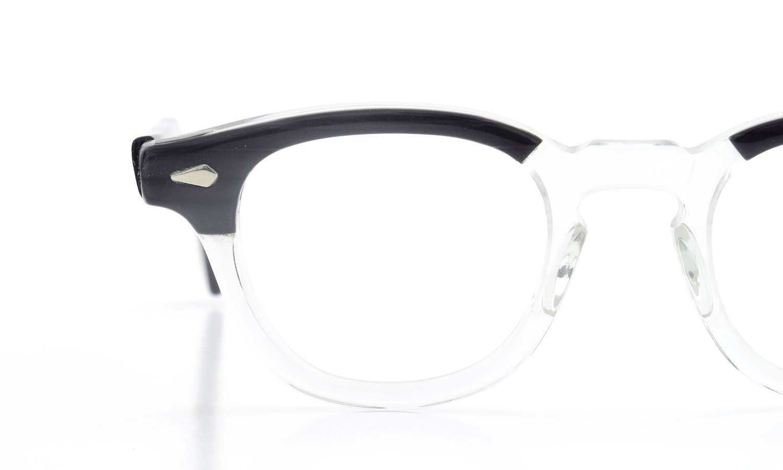 TART Optical vintage タートオプティカル ヴィンテージ メガネ ARNEL アーネル BLACKWOOD CB-CLEAR 44-22 [no.3] 14
