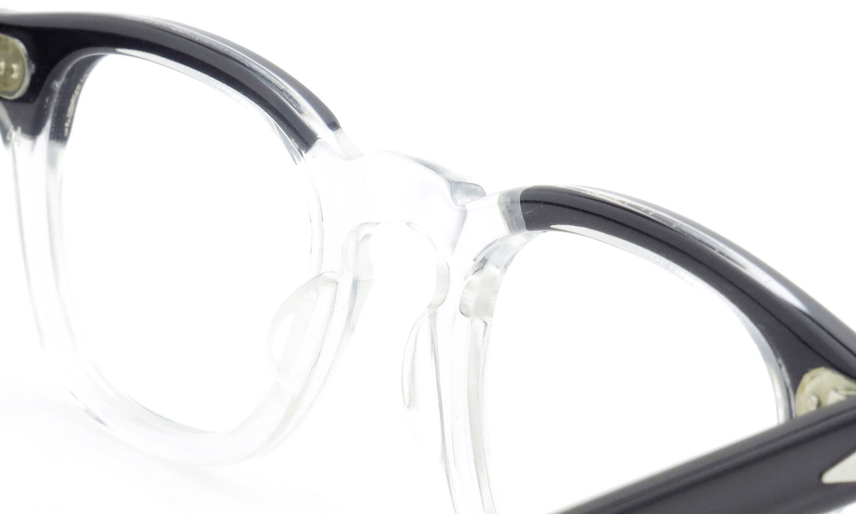 TART Optical vintage タートオプティカル ヴィンテージ メガネ ARNEL アーネル BLACKWOOD CB-CLEAR 44-22 [no.3] 8