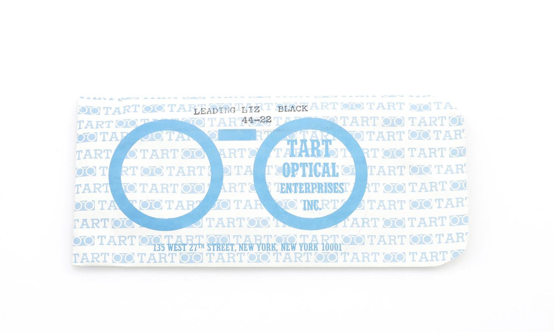 TART Optical タートオプティカル ヴィンテージ メガネ LEADING LIZ リーディング リズ BLACK 44-22 [no.1] 15