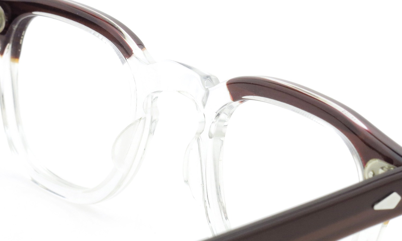 TART Optical タートオプティカル ヴィンテージ メガネ ARNEL アーネル REDWOOD C.B.-CLEAR 44-24 [no.3] 8