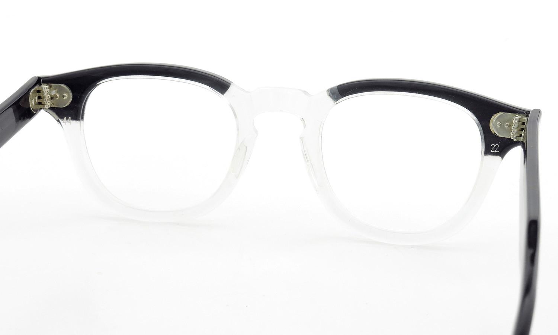 TART Optical vintage タートオプティカル ヴィンテージ メガネ ARNEL アーネル BLACKWOOD CB-CLEAR 44-22 [no.3] 7