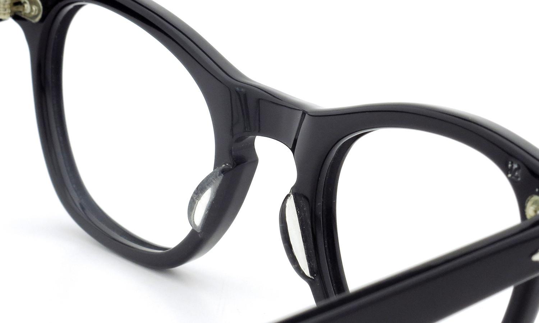 TART Optical タートオプティカル ヴィンテージ メガネ LEADING LIZ リーディング リズ BLACK 44-22 [no.1] 8