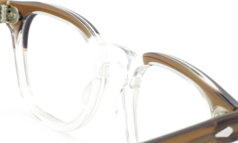 TART Optical タートオプティカル ヴィンテージ メガネ ARNEL アーネル BROWN SM-CLEAR 44-22 [no.3] 8