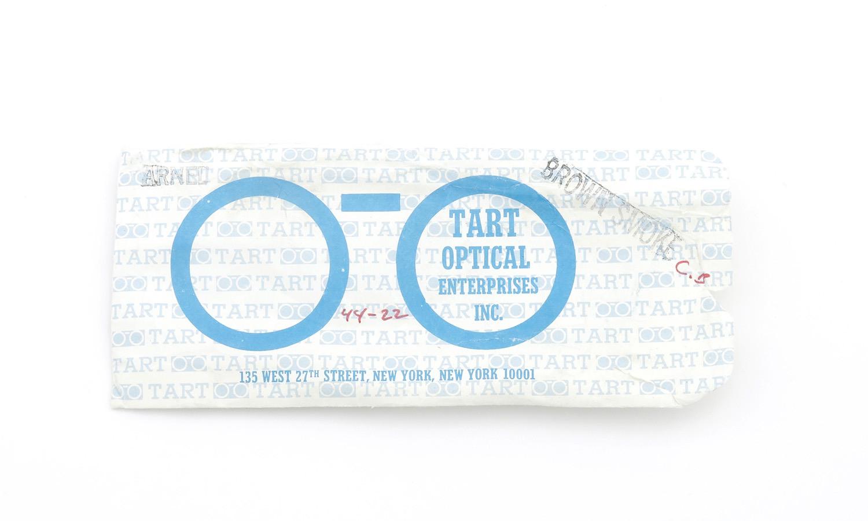 TART Optical タートオプティカル ヴィンテージ メガネ ARNEL アーネル BROWN SM-CLEAR 44-22 [no.3] 15