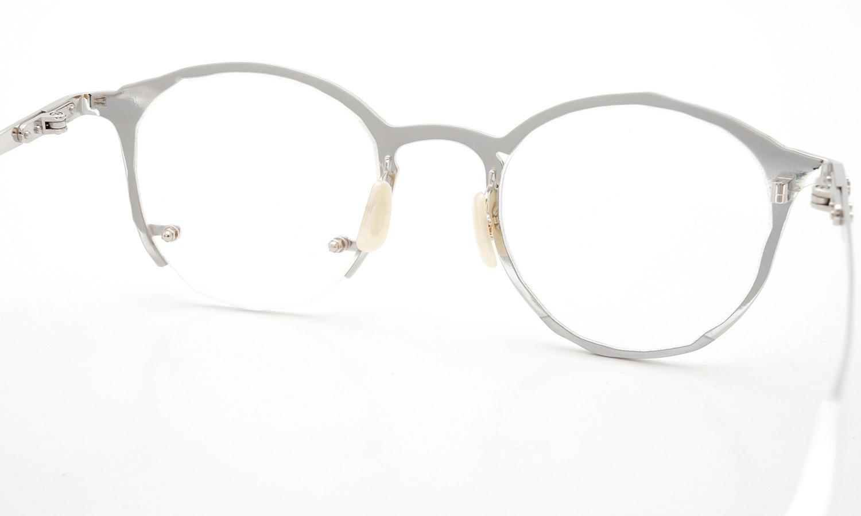 MASAHIROMARUYAMA(マサヒロマルヤマ) メガネ 4th collection 2014-2015 MM-0017 col.02 SILVER (2 side) 8