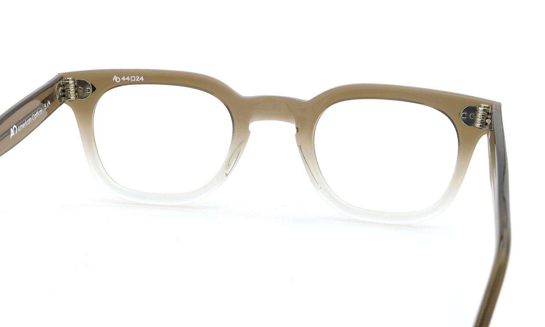 American Optical アメリカンオプティカル (AO)Vintage ヴィンテージメガネ RF23 ダイヤ鋲 BROWN-FADE-FRONT 44-24 7