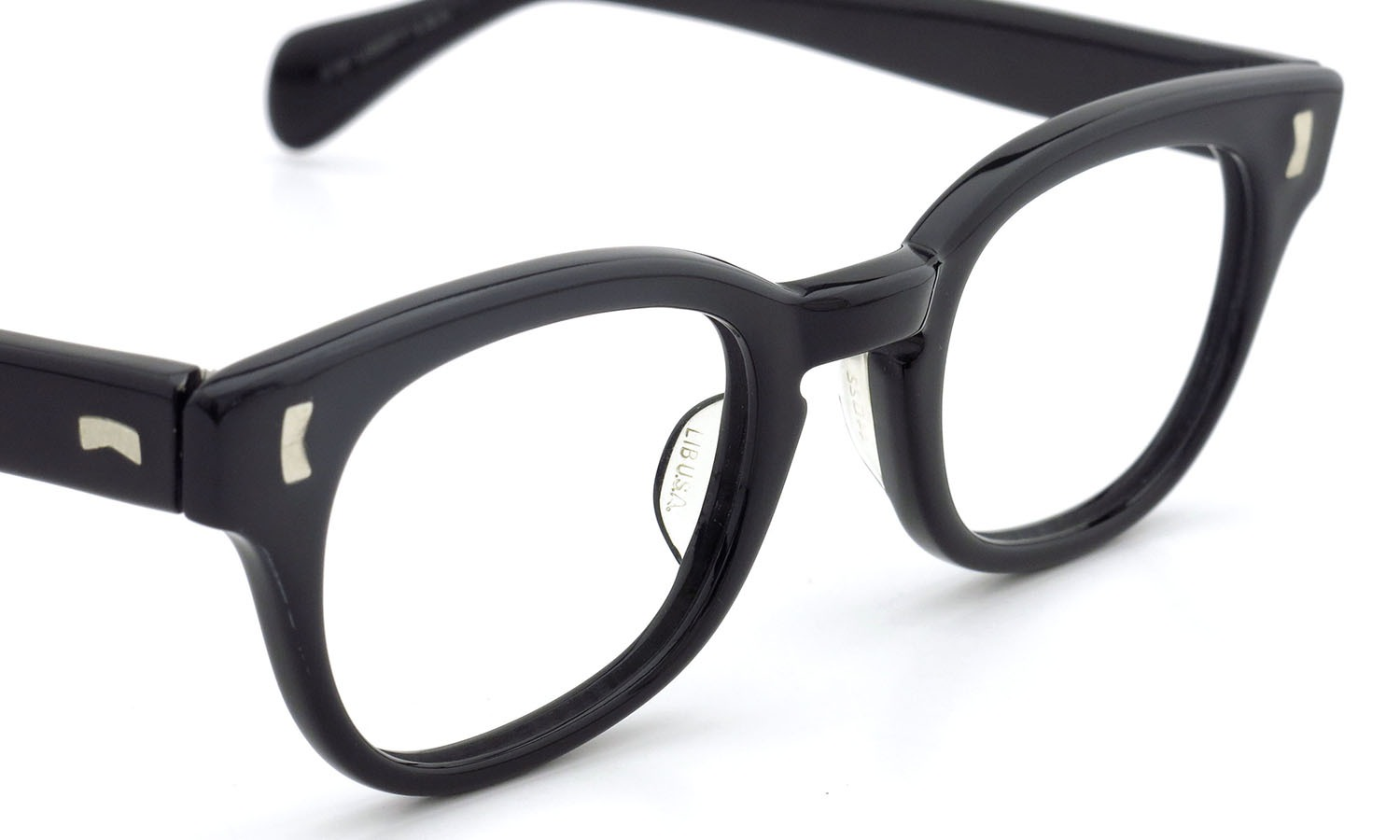 LIBERTY Optical 1950's vintage メガネ 9-PAR BLACK 44-20 6