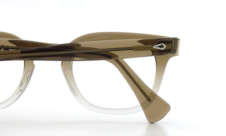 American Optical アメリカンオプティカル (AO)Vintage ヴィンテージメガネ RF23 ダイヤ鋲 BROWN-FADE-FRONT 44-24 13